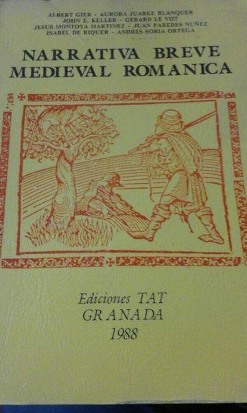 Narrativa breve medieval románica