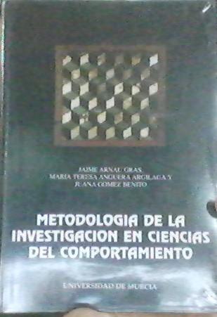 Metodología De La Investigación En Ciencias Del Comportamiento