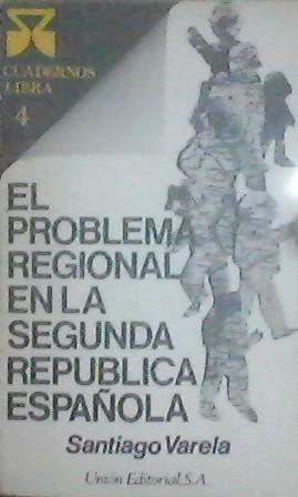 El Problema Regional En La Ii Republica Espanola