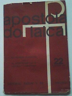 """Revista """"Apostolado laical"""", nº 22 (dic. 1965)"""