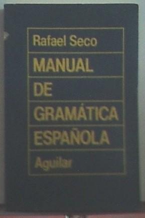 Manual De Gramática Espaänola