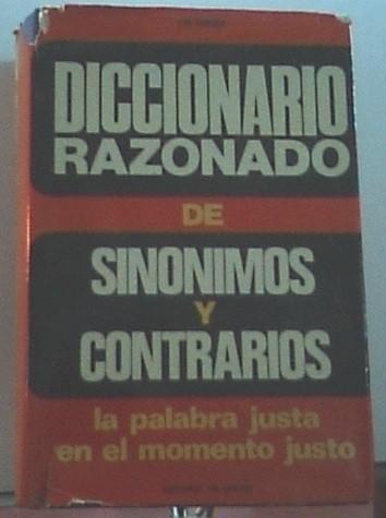 Diccionario Razonado De Sinónimos Y Contrarios