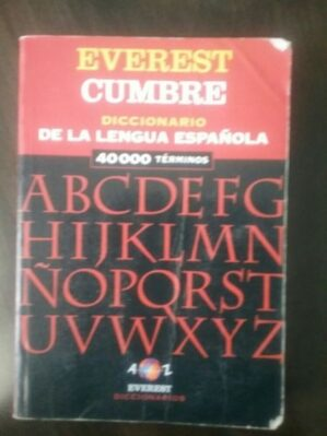 "Diccionario ""Cumbre"" De La Lengua Española"