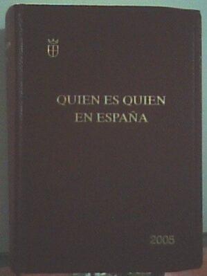 Quién Es Quién En España
