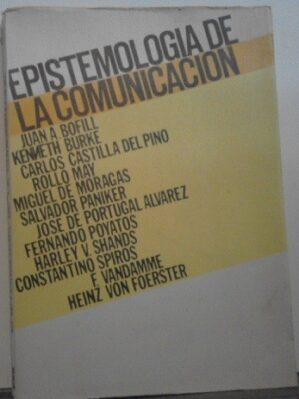 Epistemologia De La Comunicacion