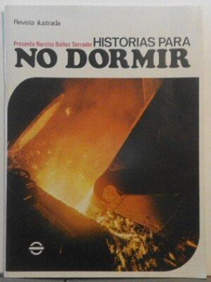"""Revista """"Historias para no dormir"""", nº7 (1972). Impecable"""