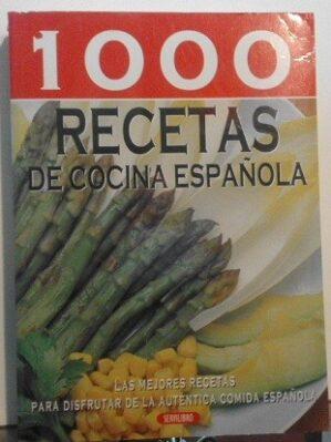1000 Recetas De Cocina Española