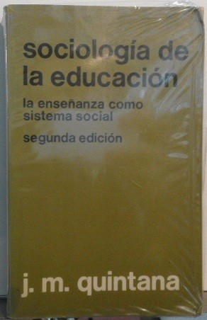 Sociologia De La Educacion: La Ensenanza Como Sistema Social