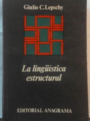 La lingüística estructural