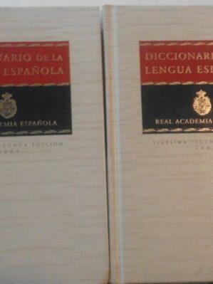 Nuevo Diccionario De La Lengua Espanola. 22 edición (obra completa en 2 volúmenes)