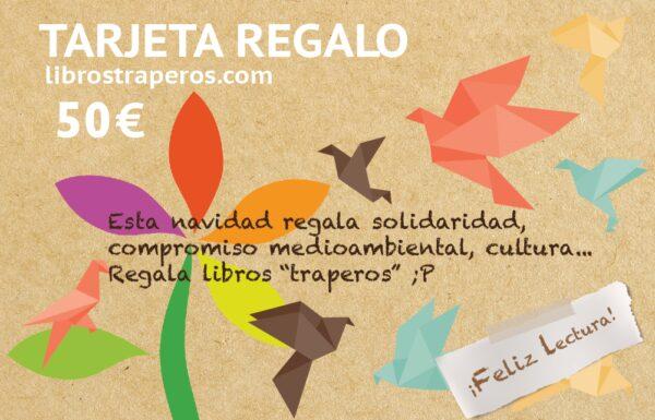 Tarjeta regalo librostraperos.com 50€