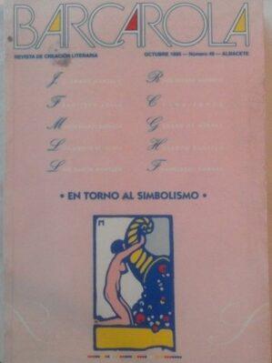 Barcarola. Revista de creación literaria. Oct 1995