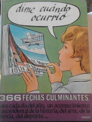 Dime Cuándo Ocurrio (Argos 1979)