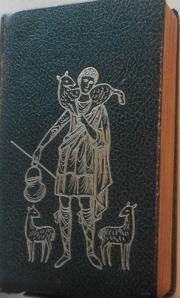 Biblia Nácar - Colunga B.A.C. 1968. Encuadernación piel, filo dorado, buen estado.