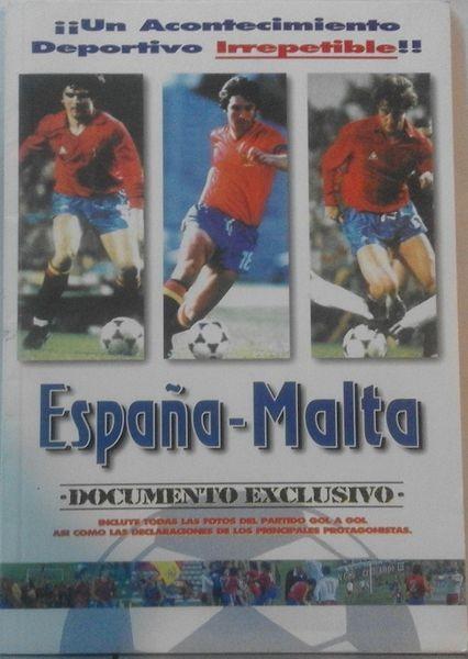 España-Malta. Documento exclusivo (reportaje del encuentro)