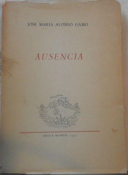 Ausencia (1ª ed. con desperfectos en portada)