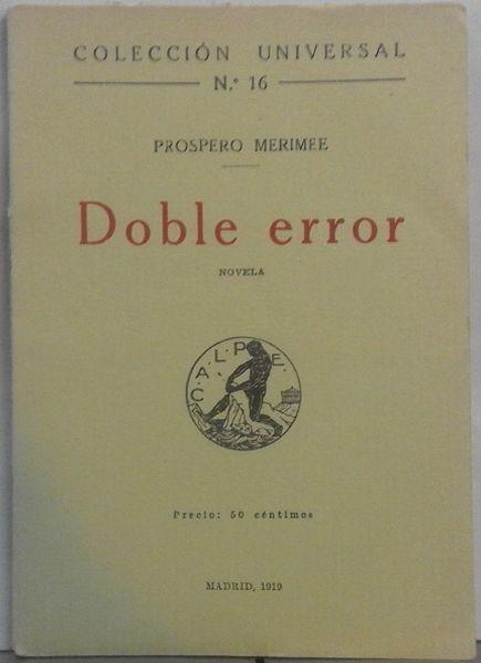 Doble error