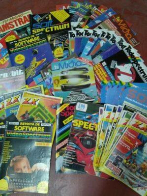 Espectacular lote 54 revistas informática años 80 (TodoSpectrum, TuMicro, ZX, Micro/Bit, SoftSpectrum, VideoSpectrum,