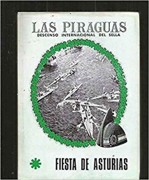 Las piraguas. Descenso internacional del Sella (ed. 1968)