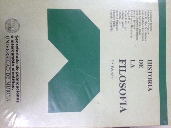 Historia De La Filosofia (Varios autores)