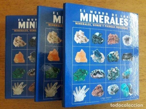 El mundo de los minerales (Obra completa en 3 tomos)