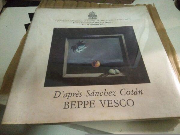 d'Après Sánchez Cotán (edición bilingüe italiano-español)