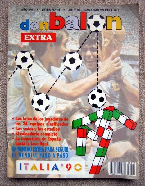 Don Balón. Extra 19 Italia 90