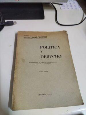 Política Y Derecho, Introducción al Derecho Constitucional español y comparado