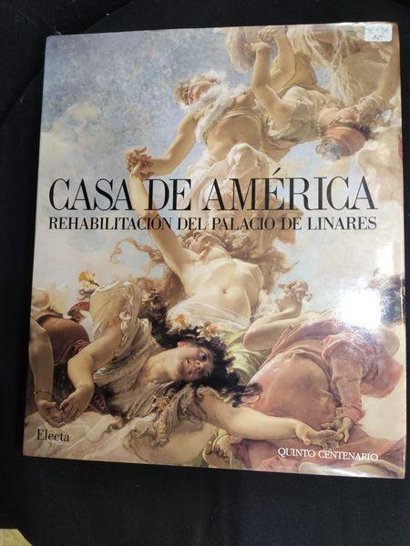 Casa de América. Rehabilitación del Palacio de Linares