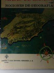 Atlas De España Con Nociones De Geografia
