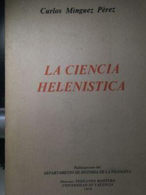 La Ciencia Helenistica