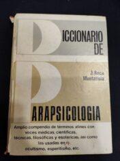 Dicconario De Parapsicologia