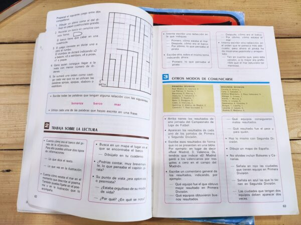 Lenguaje 3º, 4º y 5º EGB Anaya. 3 tomos