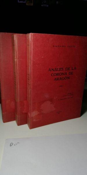 Anales De La Corona De Aragón. Tres tomos